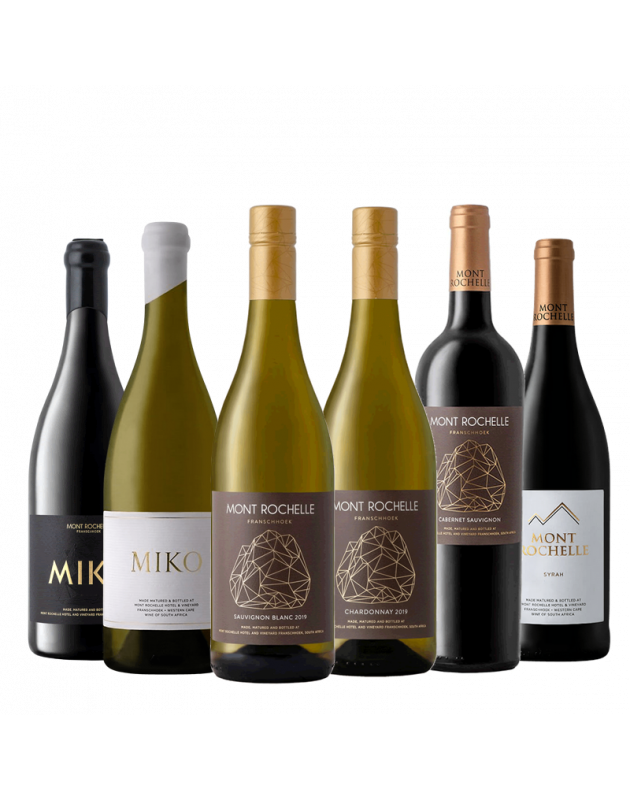 Mont Rochelle Winemaker's Selection Mixed Case